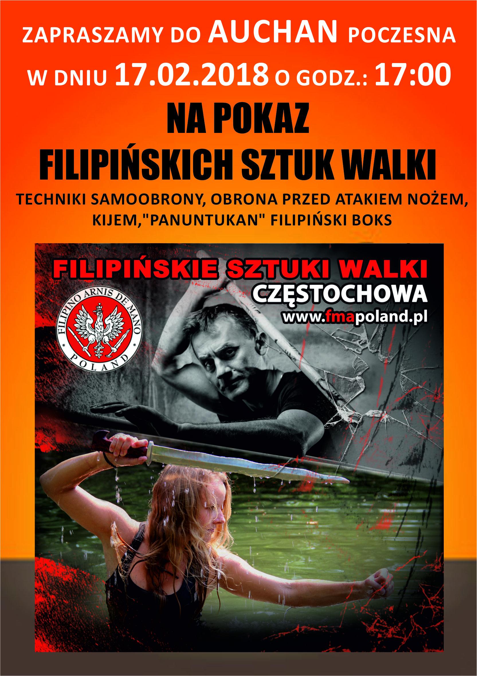 Modern Arnis Sztuki Walki Częstochowa